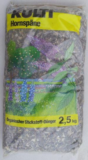 2,5 Kg Hornspäne, Naturdünger